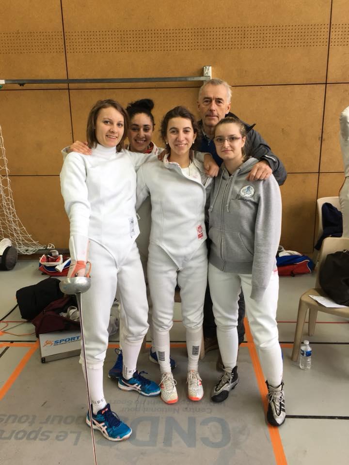 Photo équipe femme -Bron dans le Lyonnais